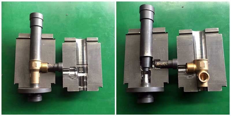 T Pipe Fitting Hot Punching Die