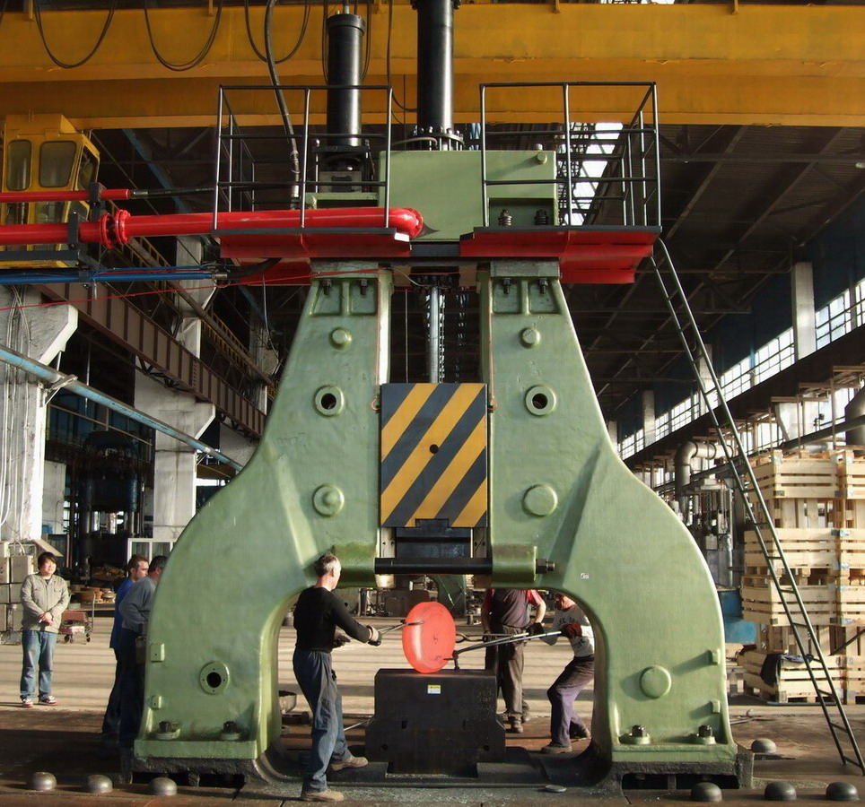 electric hydraulic die forging hammer