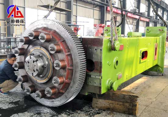 epicyclic gear carrier forging line