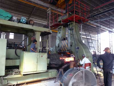 3 ton forging hammer and 3 ton manipulator in India