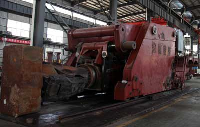 20 ton forging manipulator for Korean Customer