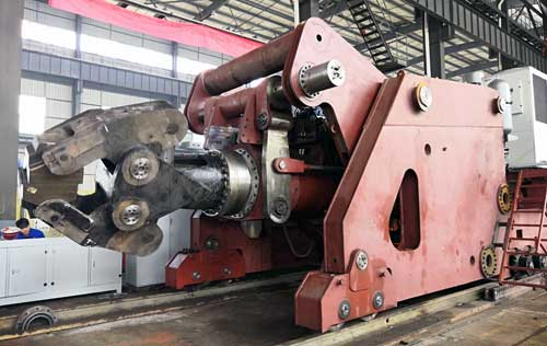 10 ton forging manipulator for 3150 ton press in India