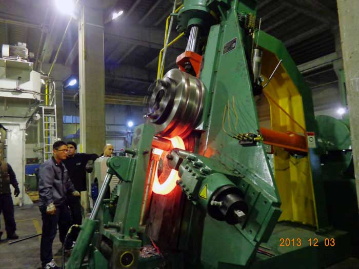 vertical ring rolling machine manufacturer