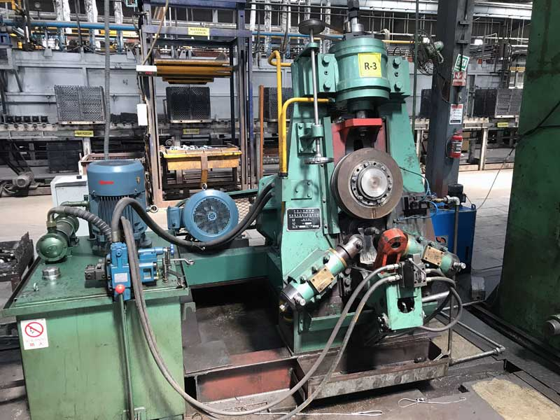 160 mm ring rolling machine