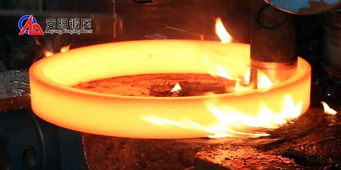 what is rolled ring forging