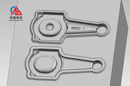 connecting rod preforging die design