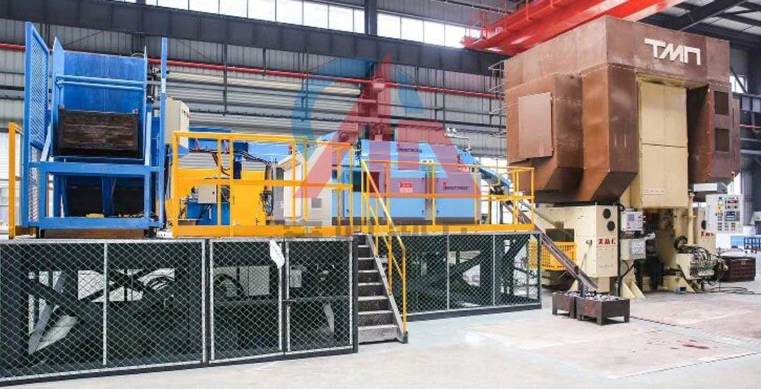 2500 ton automatic claw pole hot forging press