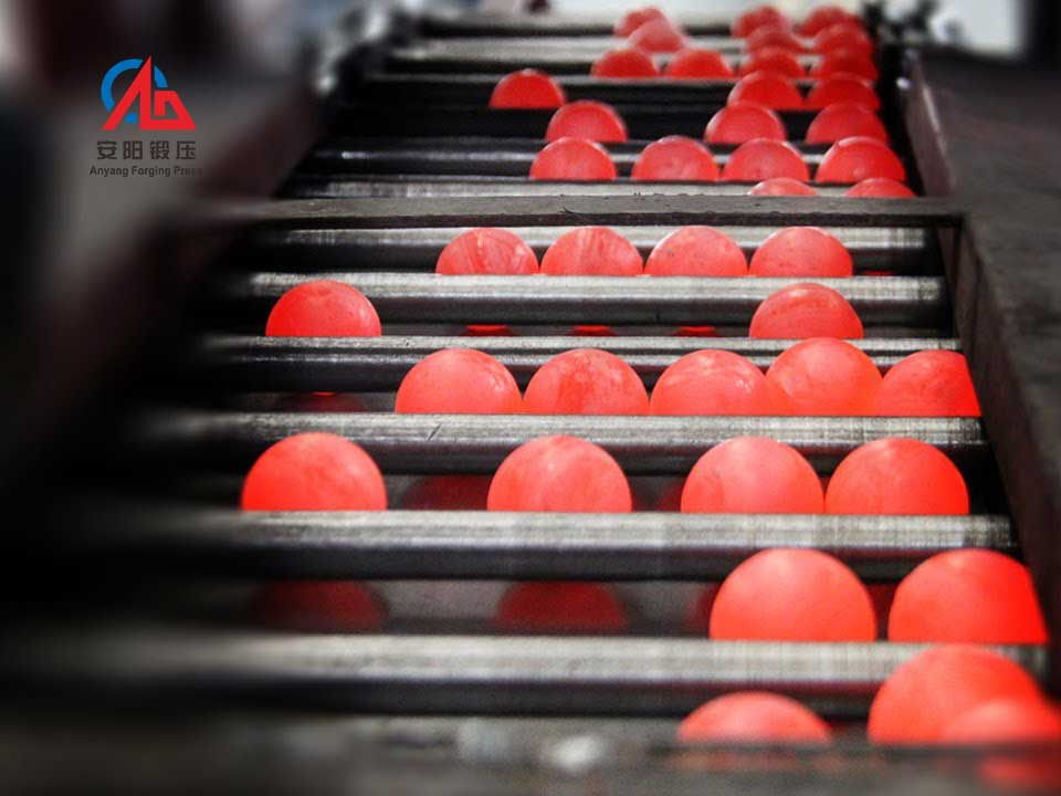 steel ball manufacturing process and making machine